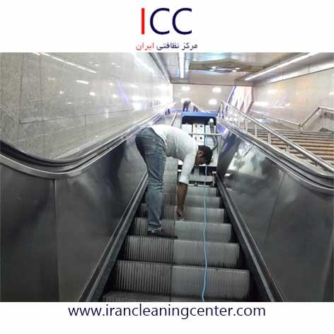 اجاره دستگاه پله برقی شور - متروی تهران ایستگاه فردوسی