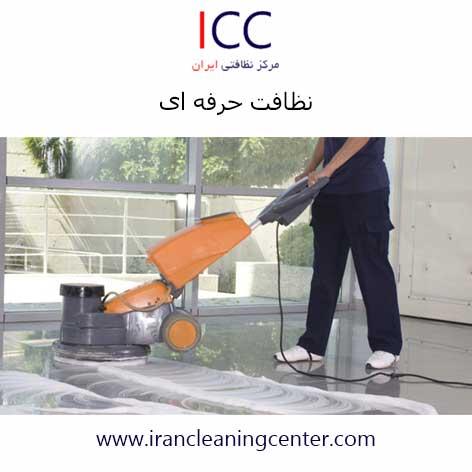 نظافت حرفه ای