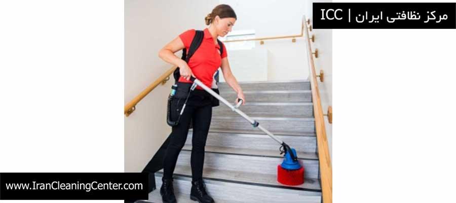 دستگاه نظافت راه پله